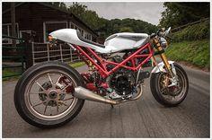 Ducati Monster SR2 800Café - Pipeburn - Purveyors of Classic Motorcycles, Cafe Racers & Custom motorbikes