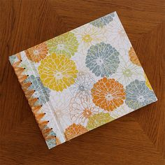 12x12 Paper Page Album from Rag & Bone Bindery with cover option Dahlia