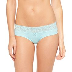 Women's Wide Lace Cotton Hipster