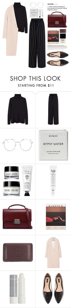 """""""Persévérance"""" by miss-magali-mnms ❤ liked on Polyvore featuring MANGO, Topshop, Byredo, philosophy, Yves Saint Laurent, Thalgo, By Malene Birger, Korres, H&M and Butter London"""