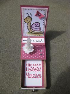 Biba`s Paperdreams: Micro Easel Card-Box