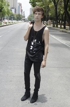 Rock & Roll inspired outfit