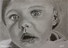 Portrait d'un Bébé chagrin,