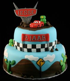 cars cake for G's party?