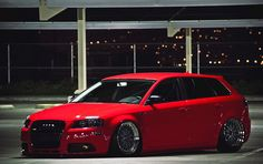 I love how this Red Audi A3 looks, but is this seriously even drivable? http://www.KeyesAudi.com