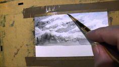 """Aquazine, le zine sur l'aquarelle par Manù à son """"replay""""... Ceci concerne le #3 sur """"comment faire des ciels différents en aquarelles"""". Il est en """"true pain..."""