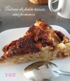 Ajouter, French Toast, Cakes, Breakfast, Desserts, Food, Bread Pudding Recipes, Banana Pudding, Bread Cake