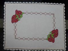 Toalha de Bandeja Moranguinhos