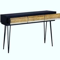 Noir Havana Console by @lhimports Check out the rest of this collection by visiting our website www.designtherapyhome.ca