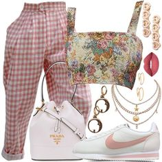 Stylish Summer Outfits, Cute Casual Outfits, Retro Outfits, New Outfits, Vintage Outfits, Mode Chanel, Virtual Fashion, Kpop Fashion Outfits, Colourful Outfits