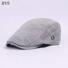 Cotton Gatsby Beret Cap Newsboy 4 Colors Women Men Flatcap Outdoor Hat for  Golf  LMJ 9bd46960b031