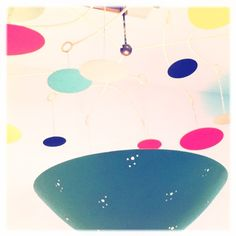 Lamp!  #lamp #decor #shapes #vintage #retro #color #circles #design #art #museum #lacma #hipstamatic #iphoneography