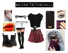 """""""Mall"""" by nialls-princess1993 on Polyvore featuring Dr. Martens, Wet Seal and Henri Bendel"""