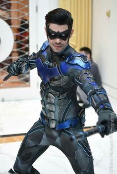 if this person doesnt play nightwing in an upcoming batman movie i will be disapoint