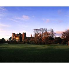Malahide Castle Co Fingal Ireland Canvas Art - The Irish Image Collection Design Pics (16 x 13)