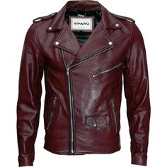 Oxblood red mb1 leather jacket ($319) ❤ liked on Polyvore featuring men's fashion, men's clothing, men's outerwear, men's jackets, mens red leather jacket, mens utility jacket, mens red jacket, mens fleece lined jacket and mens leather jackets