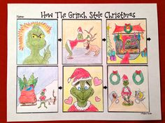 Grinch, Sequence of events and Sequencing activities on Pinterest