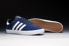Mens Adidas 350 Spzl Suede Navy White Trainers - Click Image to Close