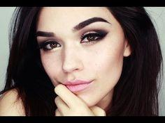 Make-Up: Golden smokey eyes YouTube tutorial by easyNeon