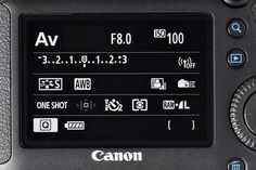 Tips on using canon 6D