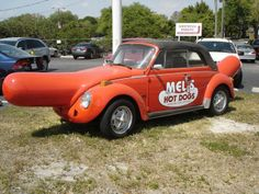 Mel's Hot Dogs ----- This is wrong on so many levels. LOL