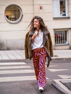 Here are our seven favourite looks this week! Fun prints on trousers, shearling coats and patent boots are on the trend radar. Got yourself a favourite?1. HANNA STEFANSSON               View...