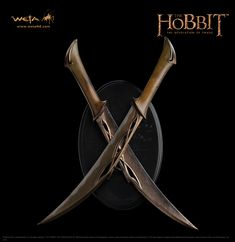 Weta Workshop - Tauriel's daggers!! ($149)