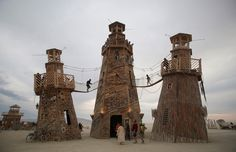 Every year, participants in the Burning Man Festival descend on the playa of Nevada's Black Rock Desert to form a temporary city—a self-reliant community populated by performers, artists, free spirits, and more.