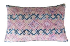 India embroidered pillow
