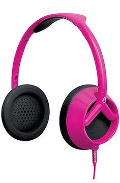 "Nixon ""The Trooper Headphones in Magenta"" #KARMALOOP 10-20% OFF every order with rep kode LOOPHOLE [KarmaKodes.com for more]   Shop KARMALOOP: http://www.karmaloop.com/index.aspx?rcode=LOOPHOLE"