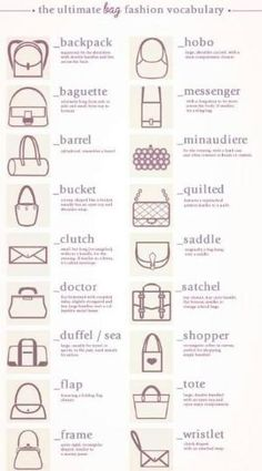 Handbag styles by HeavenV