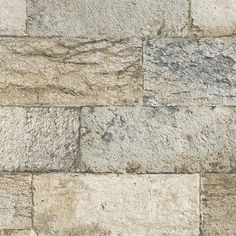 G67970, Organic Textures by Patton Brick And Stone, Faux Stone, Stone Wallpaper, Brown And Grey, Hardwood Floors, Tile, Artisan, Organic, Texture