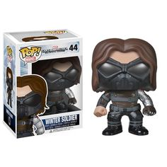 Funko POP! Marvel: Captain America Winter Soldier Masked