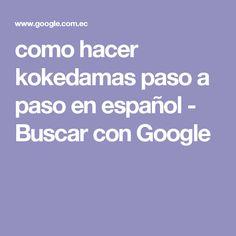 como hacer kokedamas paso a paso en español - Buscar con Google