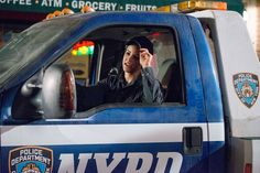Pin for Later: TV Characters Have the Best Halloween Costumes This Year Brooklyn Nine-Nine Amy (Melissa Fumero) mans the garbage truck.