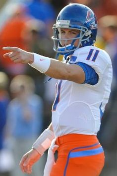 Boise State University is located along the Boise River in the heart of Boise.  We loved watching quarterback Kellen Moore (2008-2012) and his amazing feats on the blue turf.  Kellen is also known as the MOST winning quarterback in college history!
