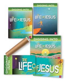 It's a cinch to bring dramatic Life of Jesus visuals to your church—and this poster pack will make it happen! Each 3 ft. x 5 ft. poster features dramatic artwork that will add color and excitement to your ministry area. Best of all, since they are themed to the Life of Jesus program, you can use these all year long! Two of the posters work side-by-side to make a 3 ft. x 10 ft. Life of Jesus banner.