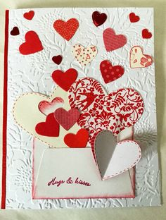 A personal favorite from my Etsy shop https://www.etsy.com/listing/263333985/unique-handmade-card-valentines-cards