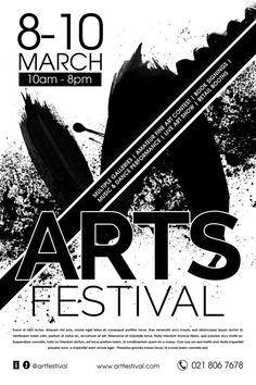 Arts Festival Event Flyer by Constantine Johnny