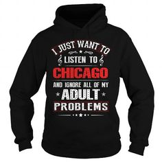 Awesome Tee Love Chicago T shirts