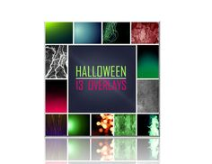 Halloween Photography Overlays 13 for $4.95 Add spooky lighting effects to your pics! Browse the before and after pics!  #halloween #spooky #creepy #overlays #scrapbooking #flames #sparks #light overalys #effects