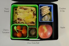 Lunch box ideas, see the link for the bread chips too !!