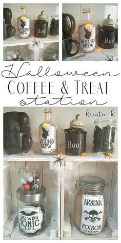 halloween coffee tre