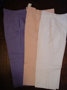 NEW Christopher & Banks Women's Capri Crop Pants Size 6 NWT Lot of 3…