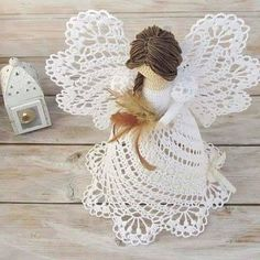 crochet christmas crochet stitches le crochet knit patterns posts crochet angels amigurumi crocheting doll outfits - Ngel Muster Selber Machen