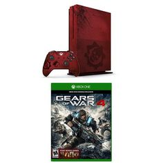 Xbox One S 2TB Console – Gears of War 4 Limited Edition Bundle and Gears of War 4 Standard Edition Physical #deals