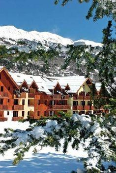 Serre Chevalier Ski resort  : France, Alpes