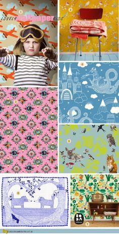Most beautiful #wallpapers for #kids!! | kinderkamerstylist