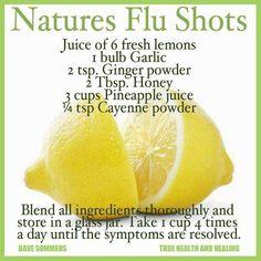 The Natural Homeschool: Cold & Flu Remedies