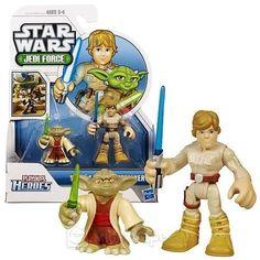 Playskool Heroes Star Wars Jedi Force - Yoda and Luke Skywalker